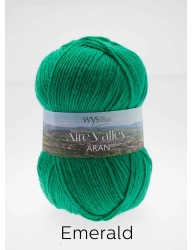 1 - Aire Valley Aran - Wool Rich Blend 75% Wool 25% Nylon - Machine Washable - Excellent Value!