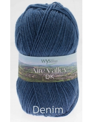 Aire Valley DK - Wool Rich Blend 75% Wool 25% Nylon - Machine Washable - Excellent Value!