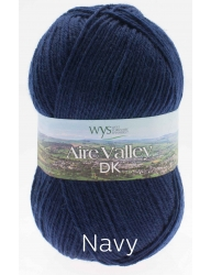 1 - Aire Valley DK - Wool Rich Blend 75% Wool 25% Nylon - Machine Washable - Excellent Value!