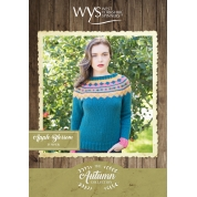 .Bluefaced Leicester Autumn Collection- Apple Blossom Jumper