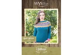 Bluefaced Leicester Autumn Collection - Apple Blossom Jumper