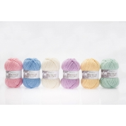 100% Aran Bluefaced Leicester Yarn - New Pastel Colours