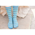 Bluefaced Leicester Country Sock Collection - Birds - Kingfisher