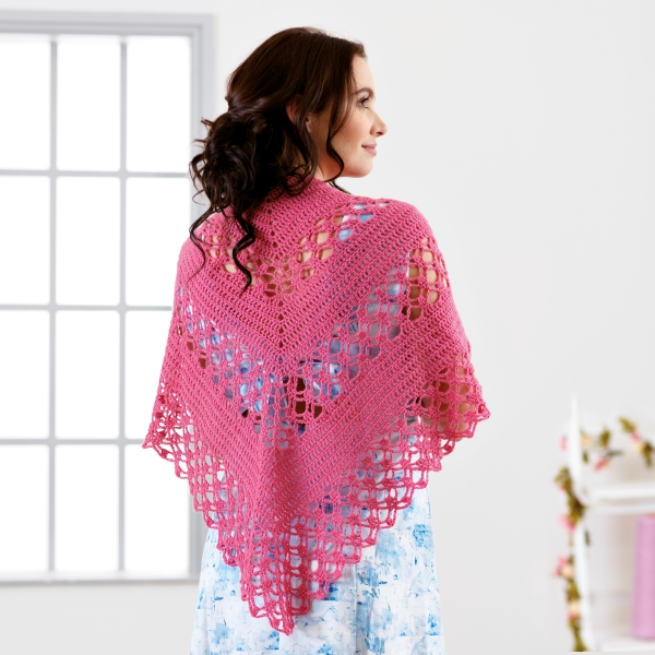 Florabelle Crochet Shawl Pattern West Yorkshire Spinners