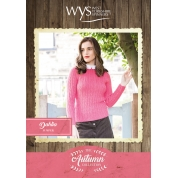 .Bluefaced Leicester Autumn Collection - Dahlia Jumper