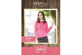 Bluefaced Leicester Autumn Collection - Dahlia Jumper