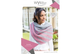 ..Wensleydale Gems Collection - Esme Striped Shawl..