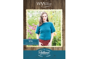 Bluefaced Leicester Autumn Collection - Fern Cable and Bobble top
