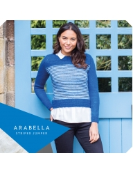 ..Wensleydale Gems Collection - Arabella Striped Jumper..