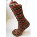 Bluefaced Leicester Country Sock Collection - Trees / Holly Berry
