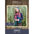 .Bluefaced Leicester Autumn Collection - Iris scarf and headband