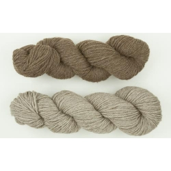 100% Aran Bluefaced Leicester yarn