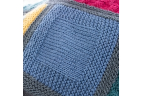 Retreat - Emeline Blanket - Square Three Free Pattern
