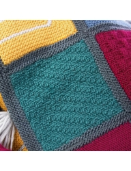 Retreat - Emeline Blanket - Square Two Free Pattern