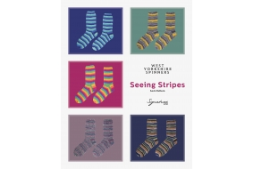 Signature 4ply – Seeing Stripes Sock Pattern