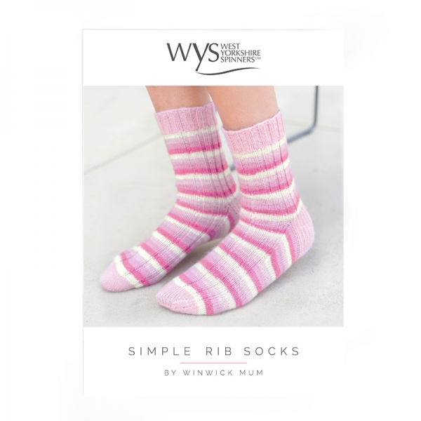 Simple Rib Sock Pattern West Yorkshire Spinners Providers Of