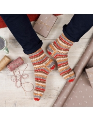 Signature 4ply – Christmas Socks Collection One