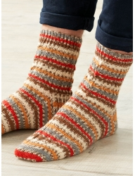 Signature 4ply – Christmas 2020 – Blitzen Socks – Free Pattern