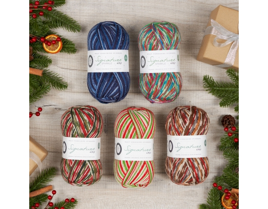 Signature 4ply – Christmas Yarn 2020
