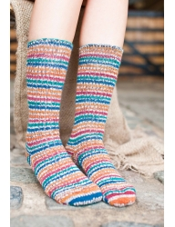 Bluefaced Leicester Country Sock Collection - Birds / Pheasant