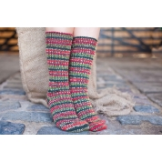 Bluefaced Leicester Country Sock Collection - Speical Edition Holly Berry