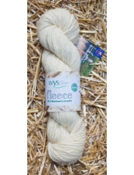 100% Bluefaced Leicester Natural Roving Yarn