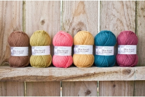 100% Bluefaced Leicester - New Autumn Shades - Aran