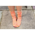 Luxury Bluefaced Leicester socks - Tequila Sunrise