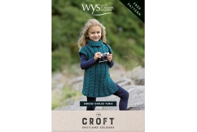 The Croft Sorcha Cabled Tunic free pattern
