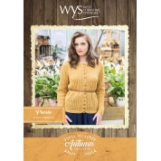 .Bluefaced Leicester Autumn Collection- Freesia Lace Cardigan