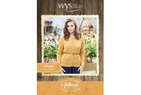 Bluefaced Leicester Autumn Collection - Freesia Lace Cardigan