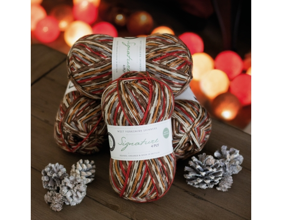 Signature 4 Ply - Christmas Robin 2019