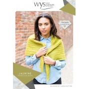 ..Wensleydale Gems Collection - Jasmine Triangular Shawl..