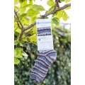 Bluefaced Leicester Country Sock Collection - Birds/Owl