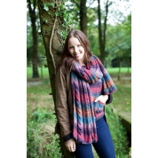 .Aire Valley Aran Fusions Scarf.