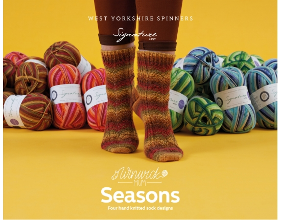 Signature 4PLY Seasons Pattern Book by Winwick Mum