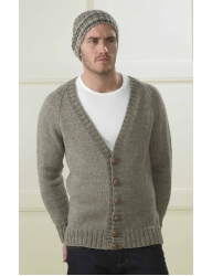 Bluefaced Leicester Mens Aran Pattern (v)